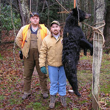 Brent Smith, Steve Workman, and a 2004 WV bear